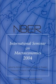 NBER International Seminar on Macroeconomics 2004