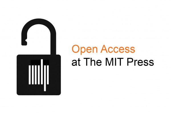 Open Access Week open lock with MIT Press colophon, text reading Open Access at The MIT Press